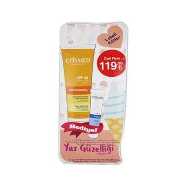 Cosmed Sun Essential SPF50 Dark Spot Reducer Cream 50ml Set Renksiz